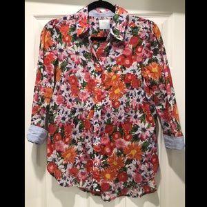 HD in Paris floral blouse